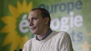 David Cormand, eurodéputé EELV, lors du congrès de son parti, le 30 novembre 2019. (OLIVIER CORSAN / MAXPPP)
