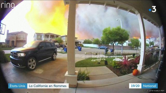 Californie : des milliers d'évacuations suite à des incendies gigantesques