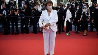 La ministre de la Culture Roselyne Bachelot le 9 juillet 2021 au Festival de Cannes (CHRISTOPHE SIMON / AFP)