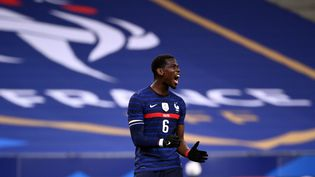 Paul Pogba, le 7 octobre 2020. (FRANCK FIFE / AFP)