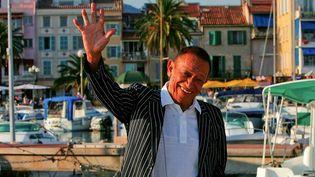 Henri Salvador en 2004 à Sanary (Var)  (PHOTOPQR/NICE MATIN)