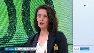 Anne-Sylvaine Chassany,correspondante du Financial Times à Paris (France 3)