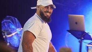 Le rappeur Médine en concert à Sion (Meurthe-et-Moselle) le 30 juin 2019 (PATRICE SAUCOURT / MAXPPP)