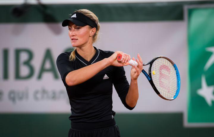 Kristina Mladenovic. (ROB PRANGE / SPAINDPPI)