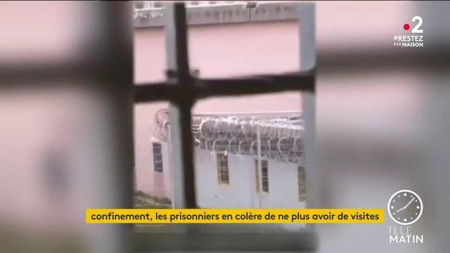 Coronavirus : la tension monte dans les prisons en France