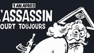 Détail de la Une du journal Charlie Hebdo du 6 janvier 2016  (Charlie Hebdo)