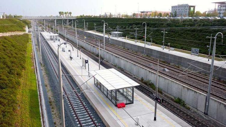 La gare de Valence TGV. (Radio France - Stéphane Milhomme)