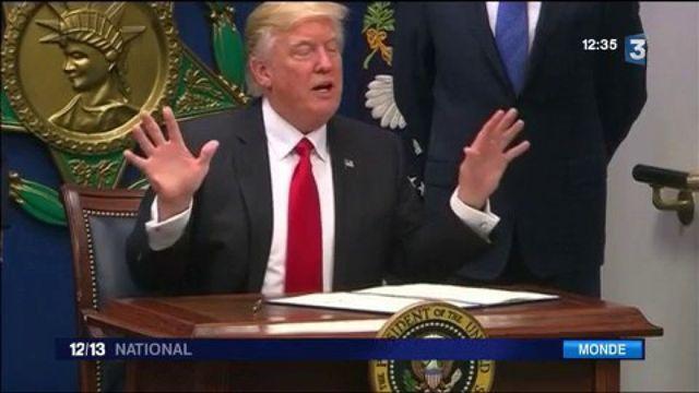 Donad Trump : une cour d'appel maintient la suspension du décret anti-immigration