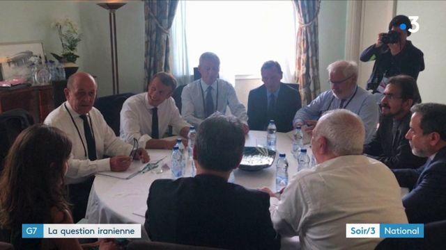 G7 : visite surprise d'un représentant de l'Iran à Birartiz