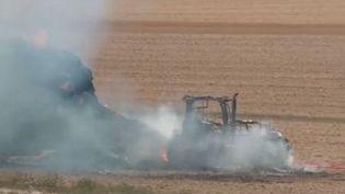 Dans le sud des Ardennes, les pompiers sont intervenus plus d'une centaine de fois depuis le 1erjuin. (FRANCE 3)