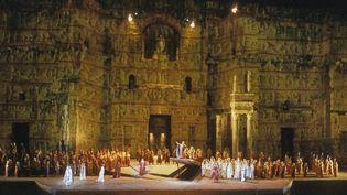 """Chorégies d'Orange : """"Nabucco"""" de Verdi dans l'Ancien théâtre (2014)  (DAN SHANNON / ONLY FRANCE)"""