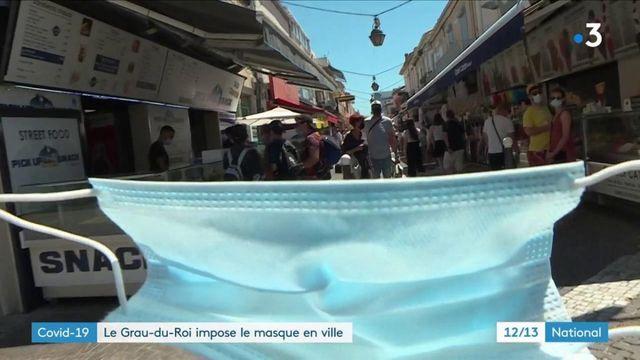 Gard : le Grau-du-Roi impose le masque en ville