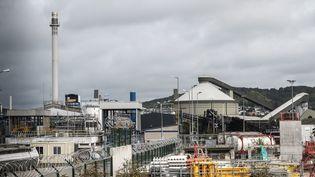 L'usine Lubrizol à Rouen, en septembre 2019. (ARNAUD DUMONTIER / MAXPPP)