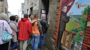 Le musée de Funès au Cellier, le 14 septembre 2013  (FRANK PERRY / AFP)