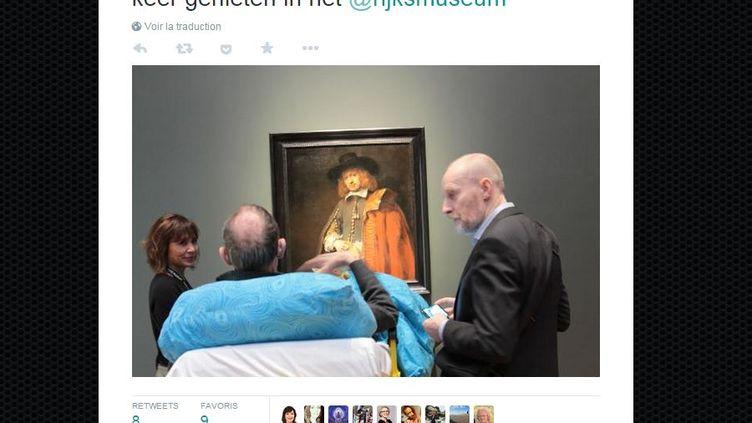 Une association d'aide aux patients en phase terminale a diffusé cette image surTwitter, le 4 mars 2015. (STAMBULANCEWENS)