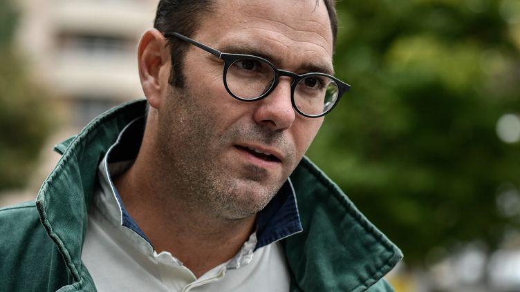 Le président de l'association La Parole libérée, le 19 septembre 2017. (JEFF PACHOUD / AFP)