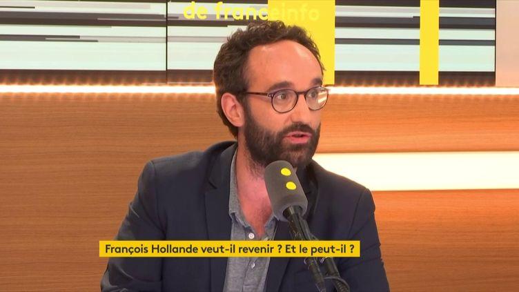 """Jonathan Bouchet-Petersen, journaliste à Libération, était invité des """"Informés de franceinfo"""" (FRANCEINFO / RADIOFRANCE)"""
