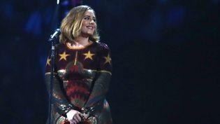 Adele aux Brit Awards le 24 février 2016  (Joel Ryan / AP / SIPA)