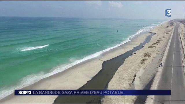 La bande de Gaza confrontée à un manque d'eau potable