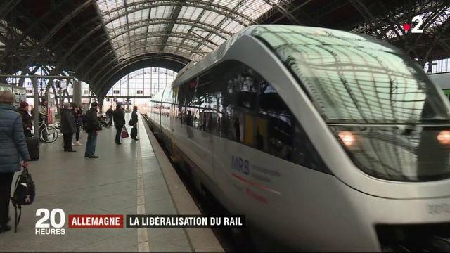 Allemagne : la libéralisation du rail