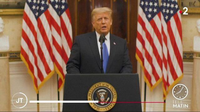 Pour son dernier jour en tant que président, Donald Trump gracie Steve Bannon
