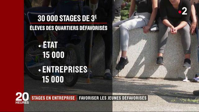 Stages en entreprise : favoriser les jeunes défavorisés
