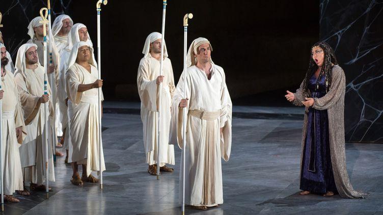 """""""Aida"""" de Giuseppe Verdi, juillet 2017 à Orange  (BERTRAND LANGLOIS / AFP)"""