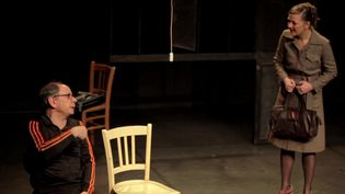 Une représentation lors du festival Samuel Beckett à Roussillon. (FRANCEINFO)
