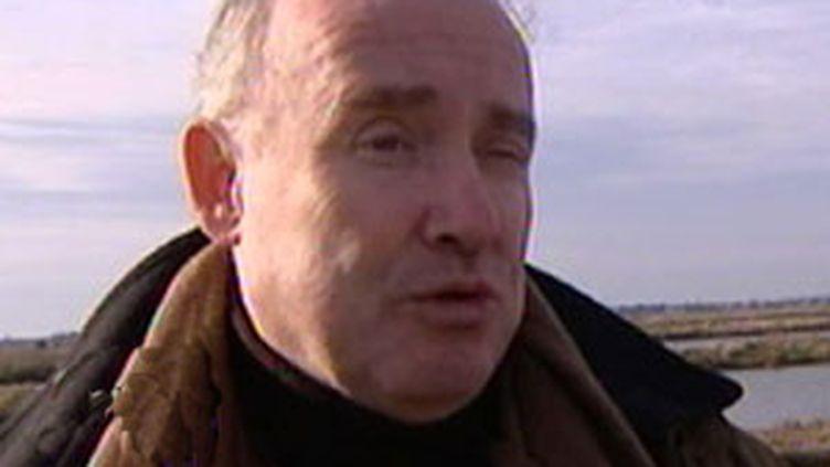 Le secrétaire d'Etat aux Transports et chef de file UMP en Poitou-Charentes, Dominique Bussereau (France 2)