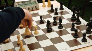 1 000 enfants des écoles du Blanc-Mesnil participent à un grand tournoi d'échecs, une discipline qu'ils apprennent toute l'année en classe. (MAXPPP)