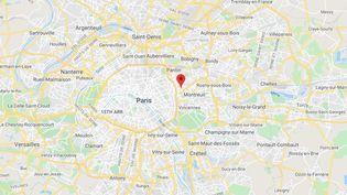 Bagnolet (Seine-Saint-Denis). (GOOGLE MAPS)