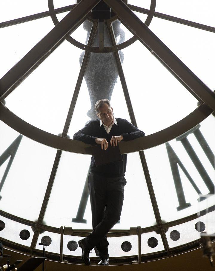 Samuel Labarthe au musée d'Orsay pour un #OrsayLive. (SOPHIE CREPY)