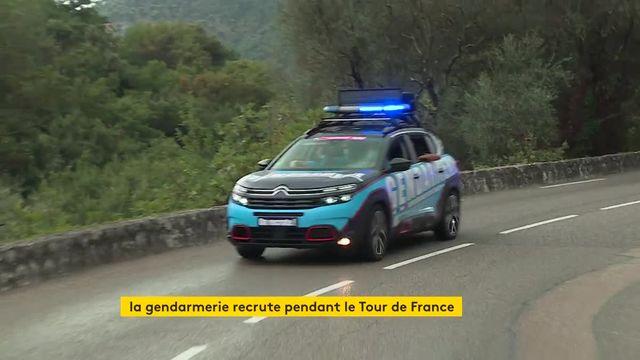 La gendarmerie dans la caravane du Tour de France