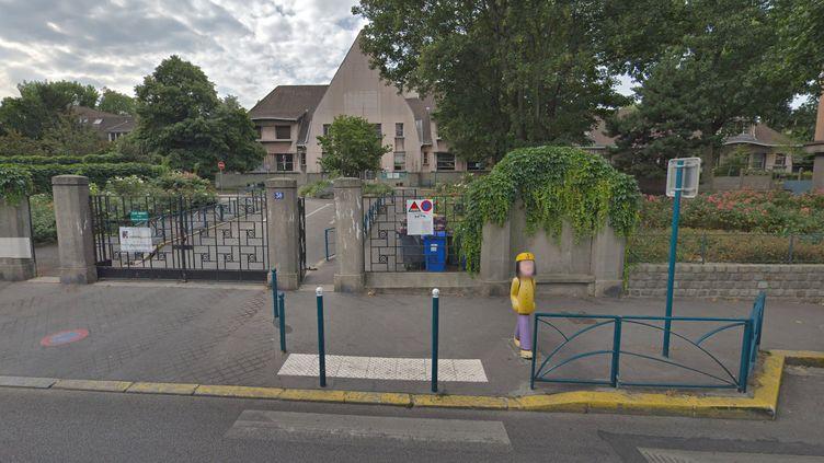 L'école Méhul à Pantin (Seine-Saint-Denis), en juillet 2018. (GOOGLE STREET VIEW)