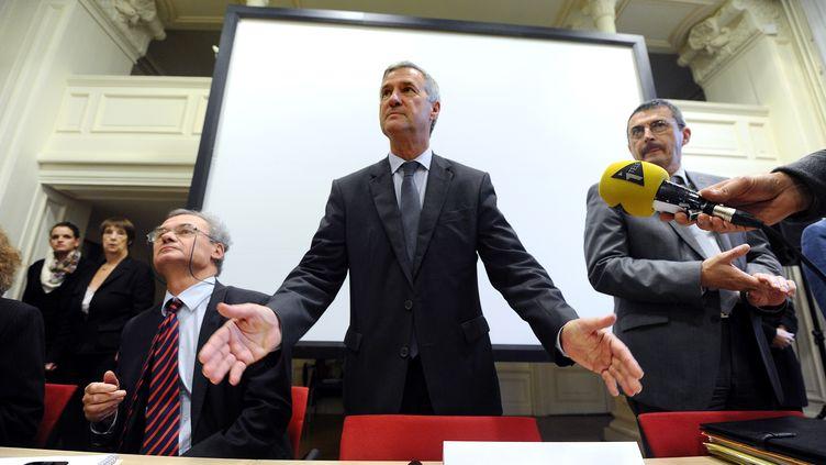 Le préfet de la région Bretagne, Patrick Strzoda, le 6 novembre 2013 à Rennes (Ille-et-Vilaine). (JEAN-SEBASTIEN EVRARD / AFP)
