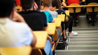 Des étudiants à l'université de Bourgogne, le 13 septembre 2019. (MAXPPP)