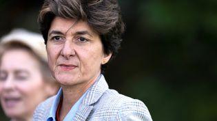 Sylvie Goulard, commissaire européenne candidate au Marché intérieur, le 12 septembre 2019 à Genval (Belgique). (KENZO TRIBOUILLARD / AFP)