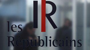 La façade des locauxdu parti Les Républicains, à Paris, le 6 mars 2017. (GABRIEL BOUYS / AFP)