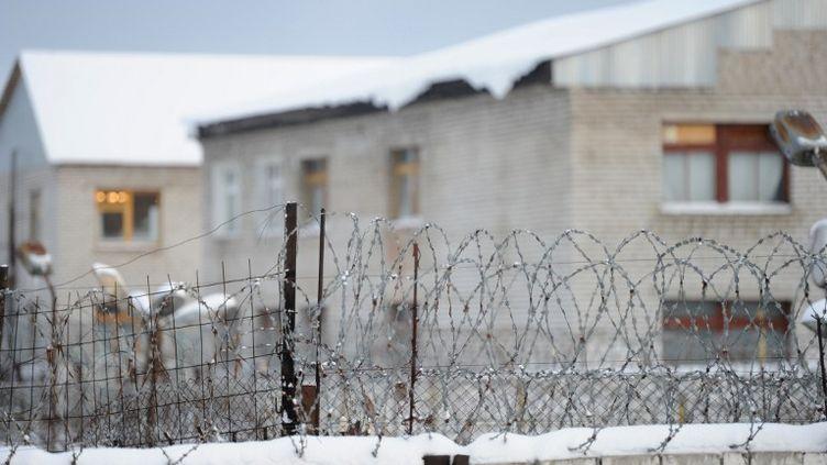 La colonie IK-28 à Berezniki, dans l'Oural (Russie), oùMaria Alekhina, des Pussy Riot, purge sa peine. (PAVEL LISITSYN / RIA NOVOSTI / AFP)