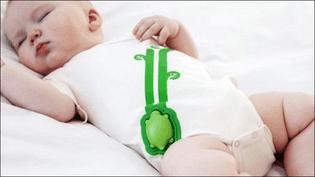 (Body connecté pour surveiller les bébés © Rest Devices)
