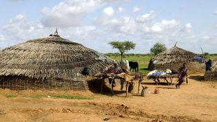 Campement de l'ethnie Bella près de Gorom Gorom, au Burkina Faso. (AFP / PHILIPPE ROY)