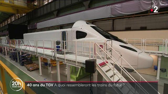 """SNCF : pour les 40 ans du TGV, le """"train du futur"""" dévoilé"""
