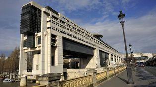 Le ministère des Finances à Paris dans le 12e arrondissement, photographié le 14 octobre 2021. (SERGE ATTAL / AFP)