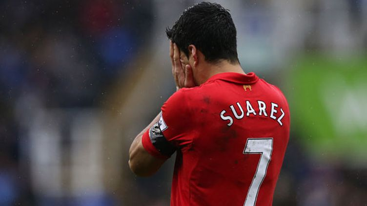 Luis Suarez, l'attaquant de Liverpool