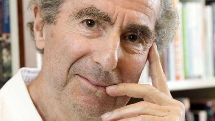 L'écrivain américain Philip Roth en 2008.  (Richard Drew/AP/SIPA)