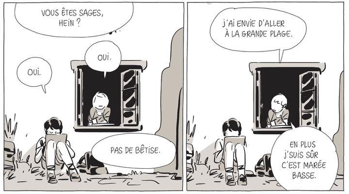 """""""Une sœur"""", page 12  (Bastien Vivès)"""