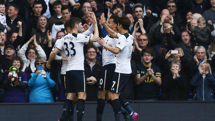 Tottenham continue d'engranger (JUSTIN TALLIS / AFP)