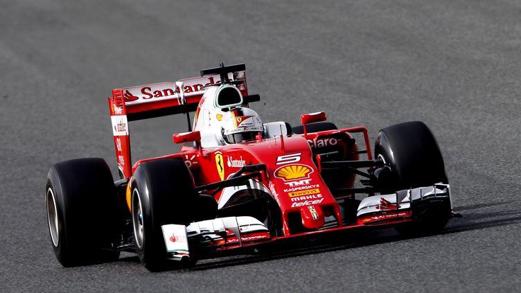 Sebastian Vettel (Ferrari) (JOSE JORDAN / AFP)