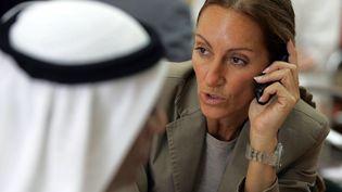 La journaliste Véronique Robert, photographiée à Dubaï, le 24 juin 2007. (KARIM SAHIB / AFP)
