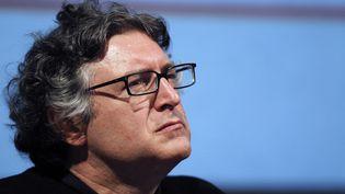 Le philosophe Michel Onfray,àHerouville-Saint-Clair(Calvados), le 15 octobre 2010.